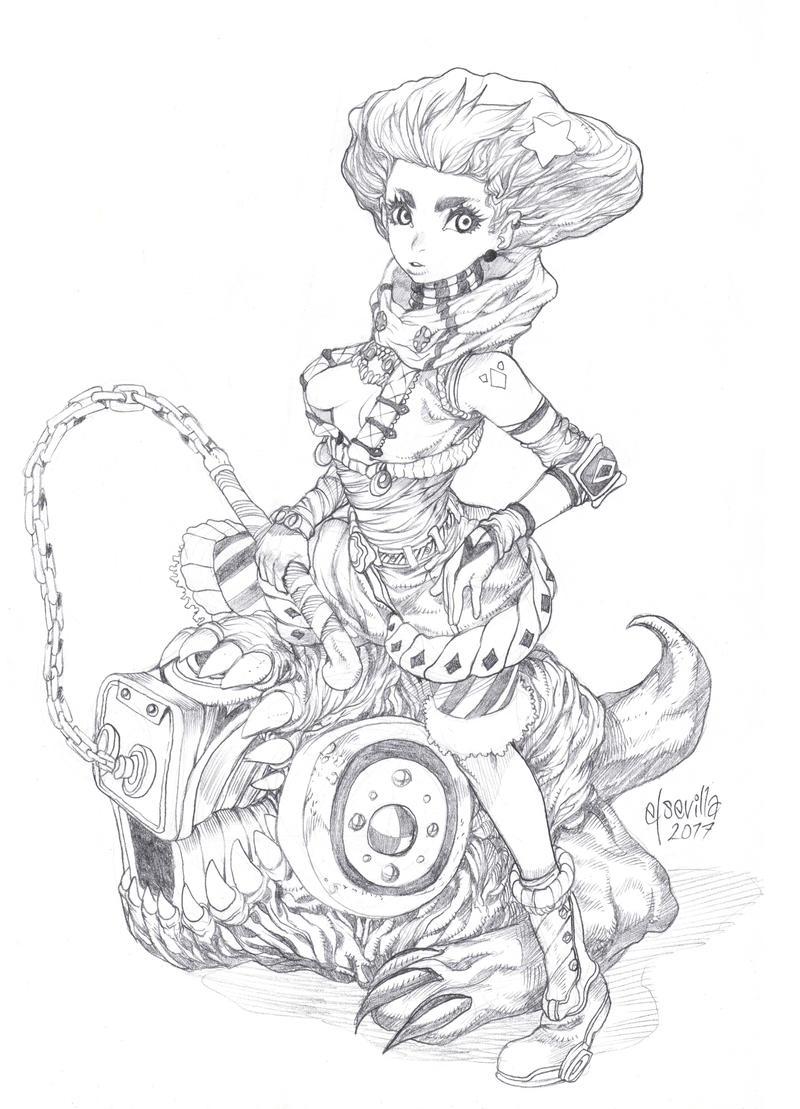 Random doodle by elsevilla