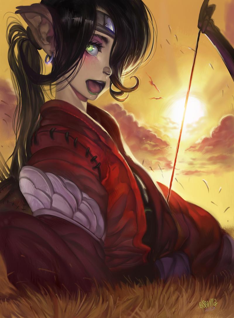 Bowgirl by elsevilla