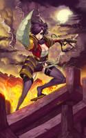Lilly samurai girls by elsevilla
