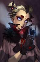 Vampire taste by elsevilla
