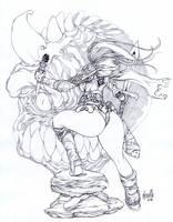 Torchgirl by elsevilla