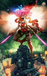 Sky Ninja by elsevilla