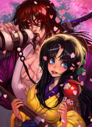 Kaoru and Kenshin date