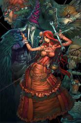 Back milady cover by elsevilla