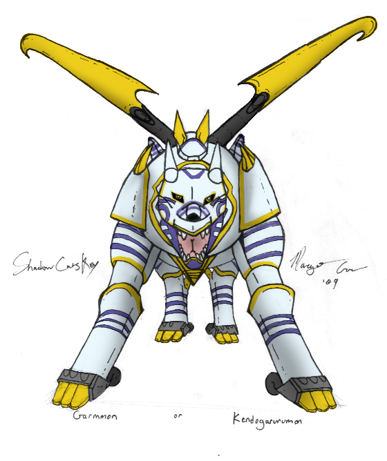 . KendoGarurumon . by ShadowCatsKey on DeviantArt