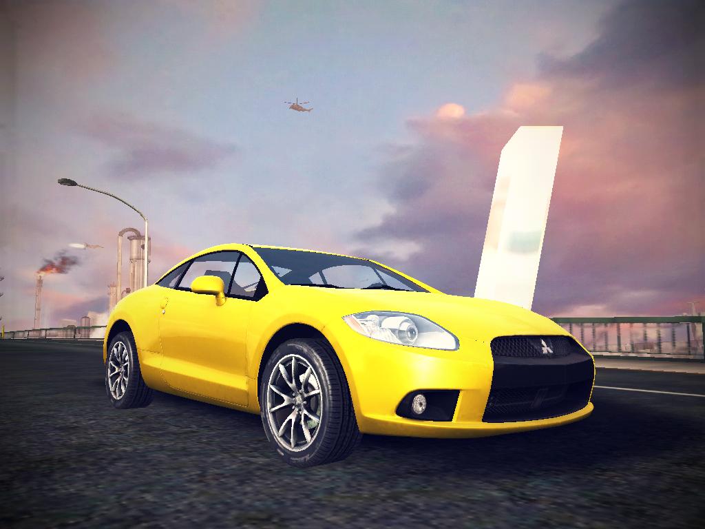 Mitsubishi Eclipse by GamePonySly