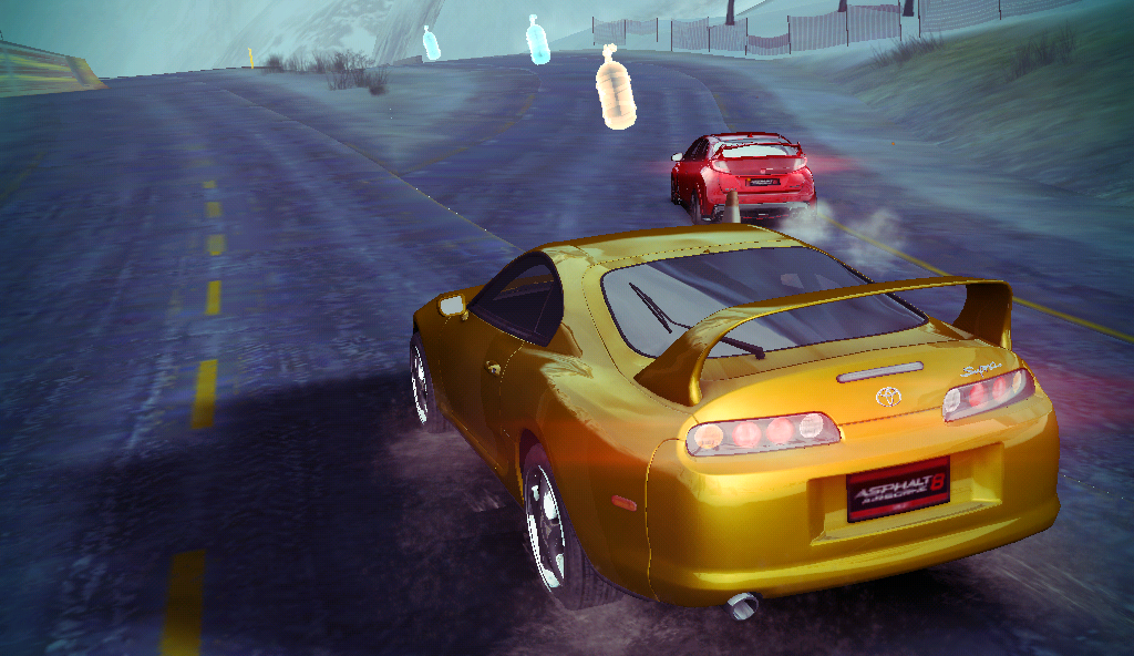 Supra And Civic Type R by GamePonySly