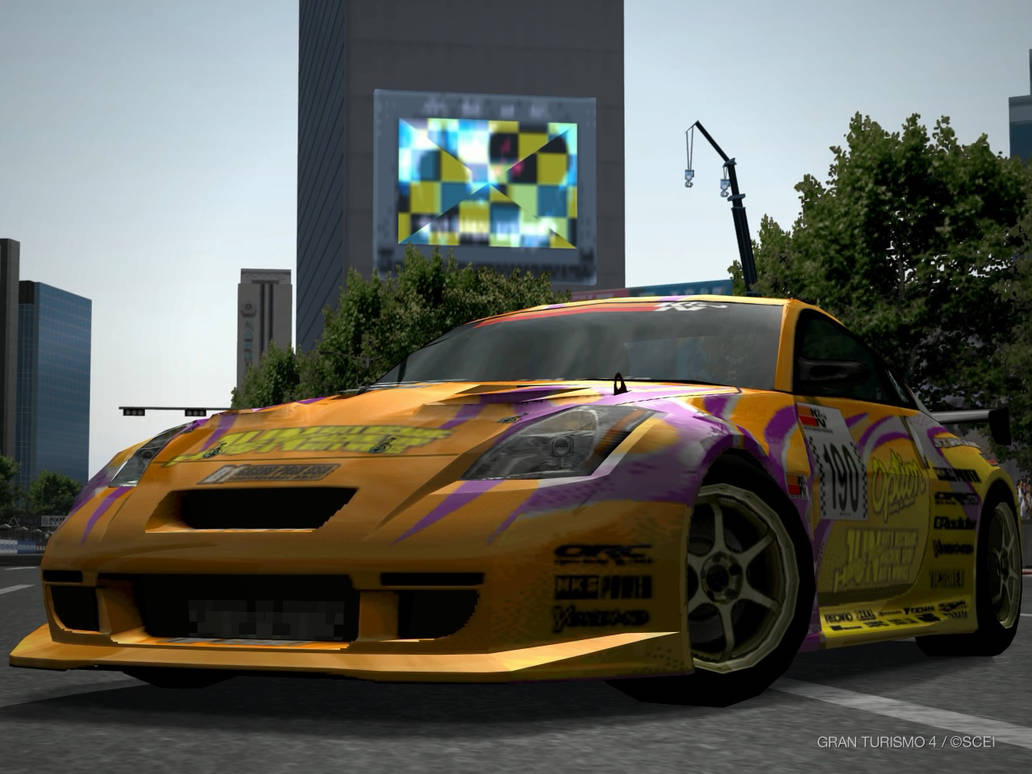Nissan OPTION Stream 350Z by GamePonySly