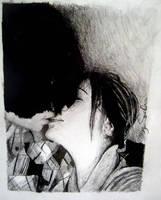 Kissing by nofxpunx