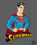 Superman vector fanart