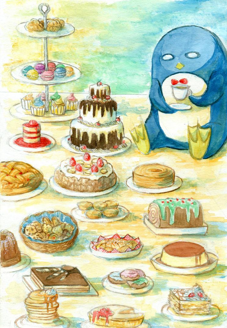Macaroon Th Birthday Cake