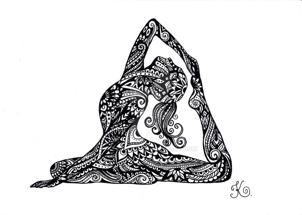 Yoga Eka Pada Raja Kapotasana by koko0117
