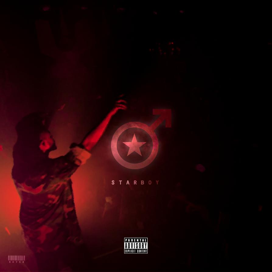 Starboy Album Design #2 ~ Minimal by rh-yyss