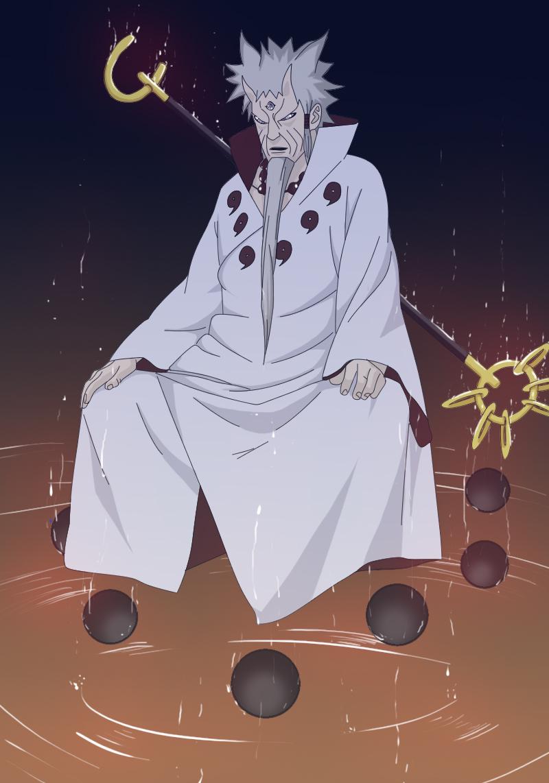 Naruto Manga 670 Rikudou Sennin Coloreado By Mekanel