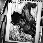 Eren VS Annie / Shingeki No Kyojin - MEKANEL by Mekanel