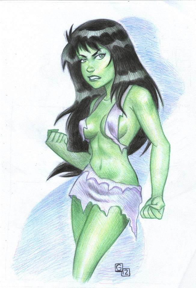 She hulk by gabrieldnc