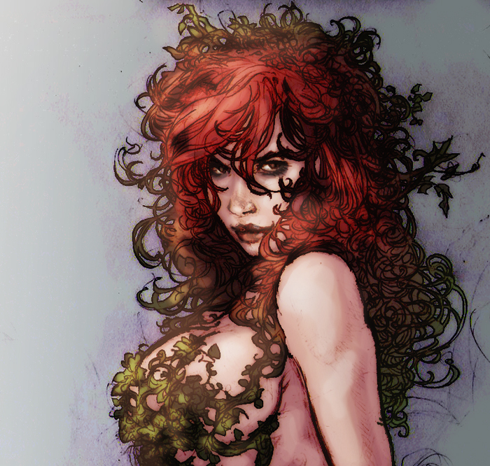 Poison Ivy sketch by nonwings
