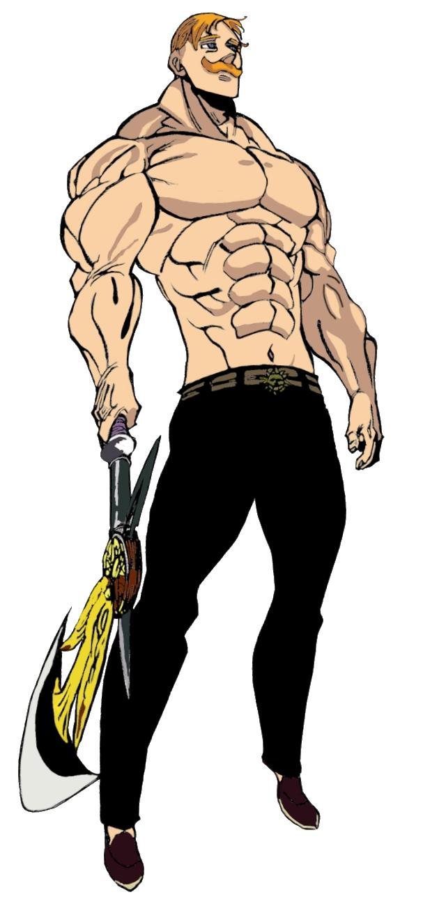 Nanatsu no Taizai: Escanor Full-body depiction by ...