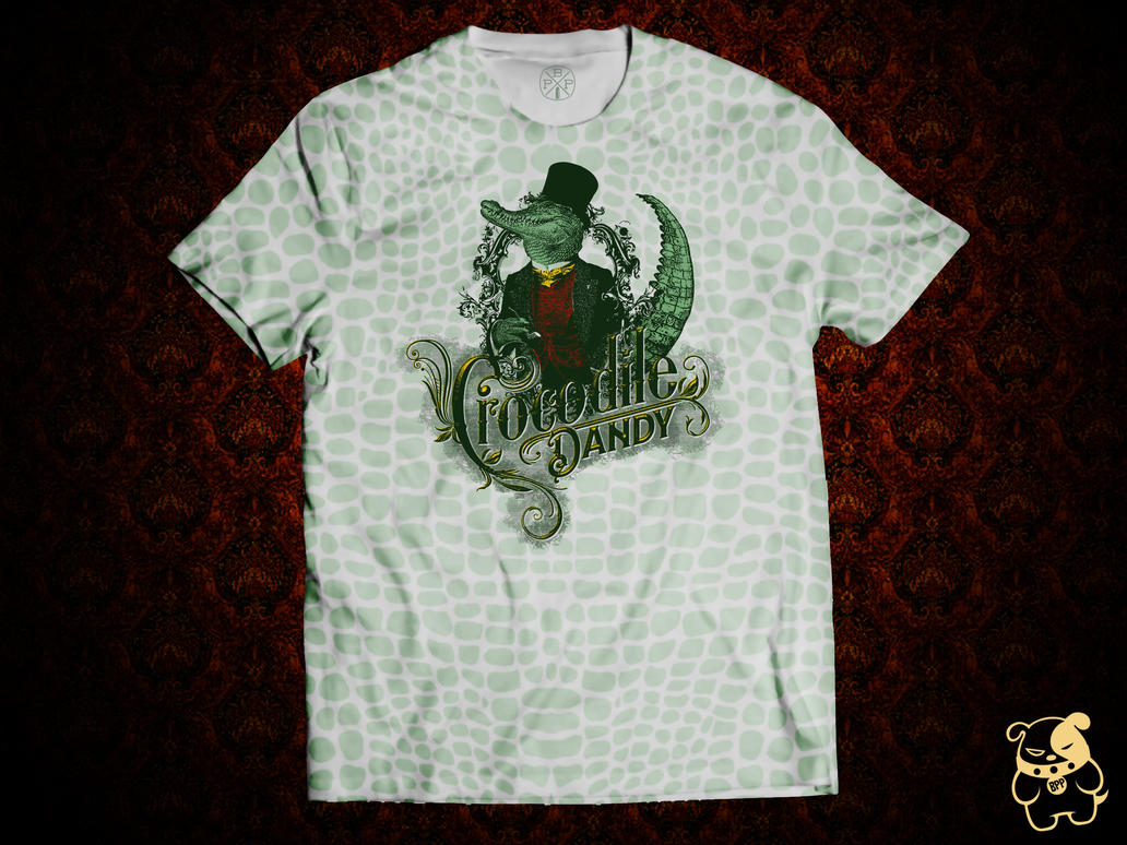 Crocodile Dandy Tee by MrXpk