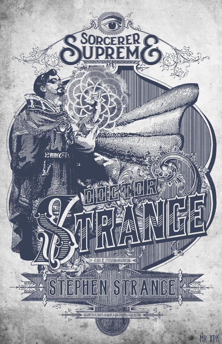 Vintage Dr Strange by MrXpk