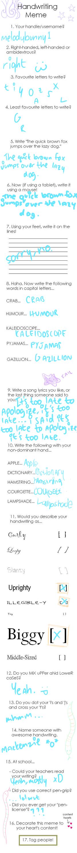 Handwriting Meme by MelodyBunny1