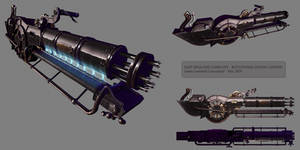 Rotational cannon steampunk