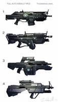 Assault rifle concepts