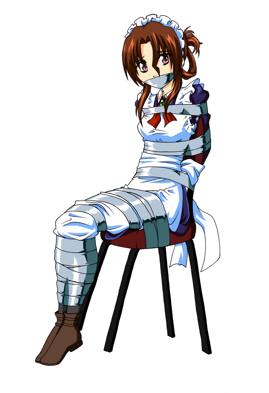 Anime sitting position