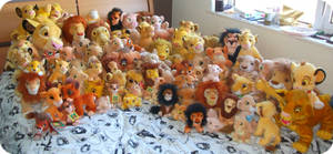 All My Lion King Plushes So Far