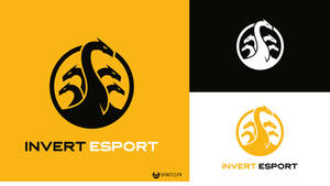 Logo Invert Esport