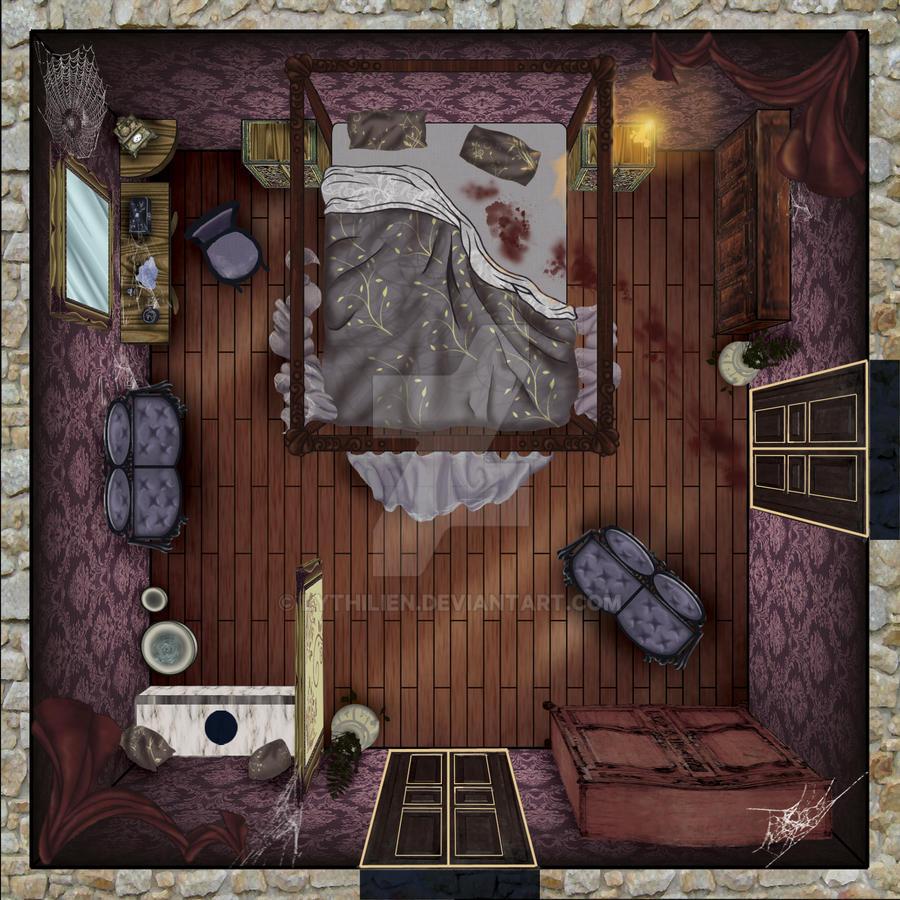 Rdm stanza da letto by lythilien on deviantart - Amici di letto chat ...