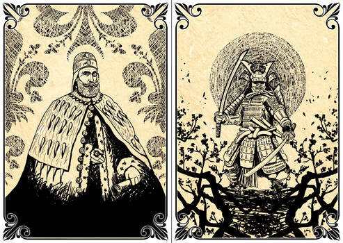 Playing Cards:  The Archon - The Samurai