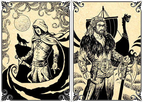Playing Cards: The Assassin - The Viking