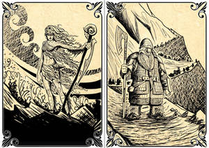 Playing Cards: The Sea Creature - The Dwarf