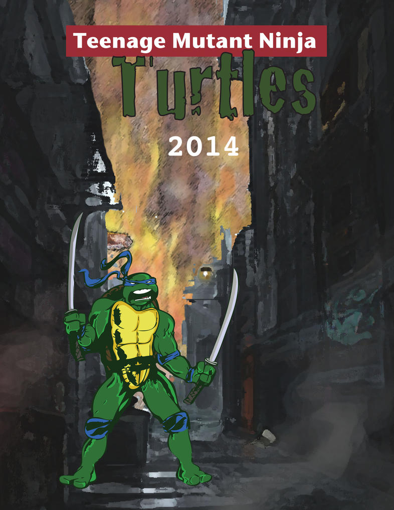 ninja turtles poster 2014 by ironmanx10x on DeviantArt