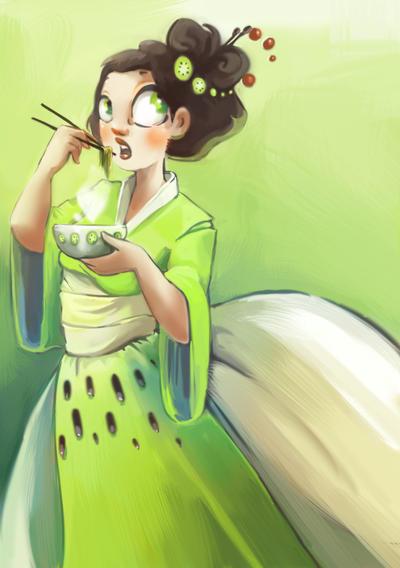 couverture du kiwi-zine by Pendalune