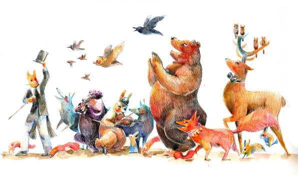 Animal's parade
