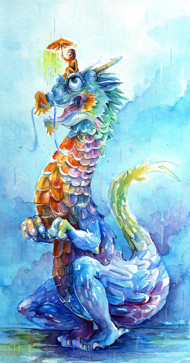 water dragon by Pendalune