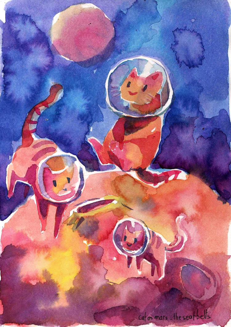 cats on mars by Pendalune