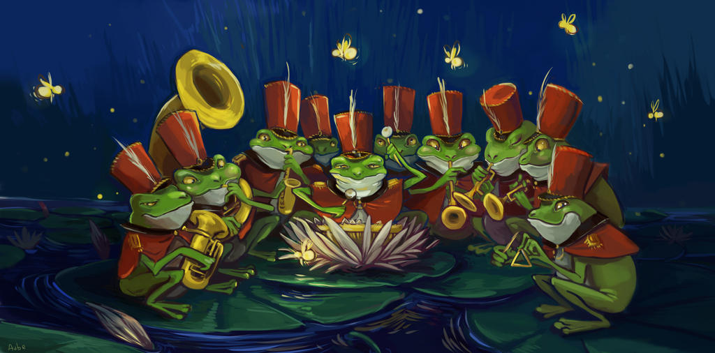 Frogs band by Pendalune