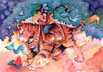 Tiger rider