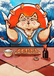the cat who loved sushi...