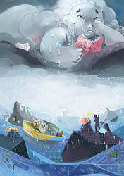 the rain by Pendalune