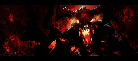 dota 2 shadow fiend forum signature by theshiney on deviantart