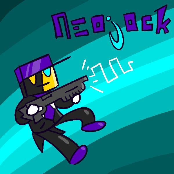 NEOJOCK HAS A GUN by G0ATFAC3