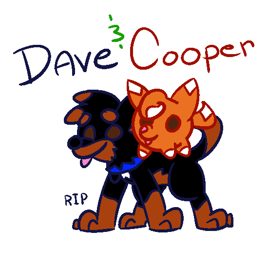 Dave and Cooper by G0ATFAC3