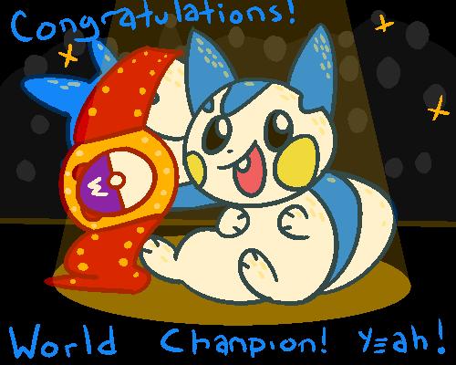 World Champion Pachirisu by G0ATFAC3
