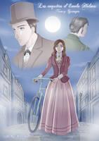 Fanart of Enola Holmes by Ly-Ka