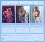 Commissions OPEN Info by Dorothy-Douglas