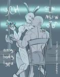 Bunny Boy NSFW gay YCH [CLOSED] by Dorothy-Douglas